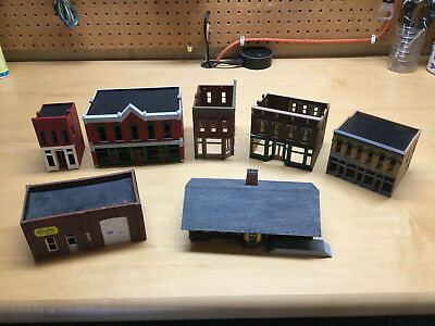 HO Scale Buildings (mostly DPM) - partially complete