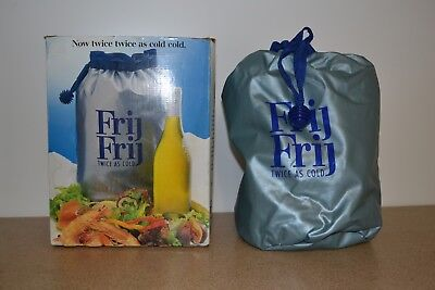 Vintage The Frij Frij Cooler Bag Brava Australia 1980s Original Box