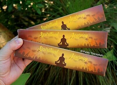 SPIRITUAL JOURNEY INCENSE STICKS~New Moon 15gms x 3 Wicca Smudge Pagan Ritual