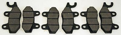 2012 2013 2014 Can-Am Commander 1000 X Front And Rear Brakes Brake Pads
