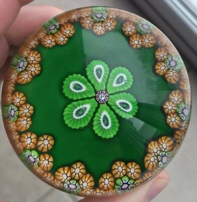 PERTHSHIRE Paperweight, Unique & Spectacular, Emerald