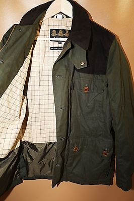 #92 Barbour 'Hackerton' Waterproof Jacket Size M  RETAIL $499