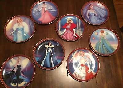 "Barbie Porcelain Collector Plates - ""High Fashion Barbie""  (Danbury Mint)  NICE"