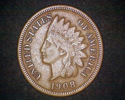 1908-S Indian Head Cent -Key Date Coin