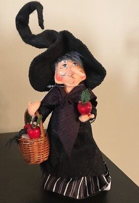 Annalee Figure Doll 9 inch Hag Witch $29 NWT Halloween Fall Mobility Doll