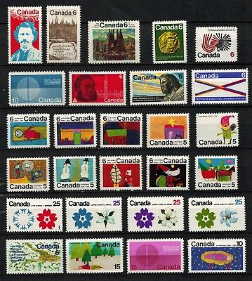 Canada #505-31 Mint VF 1970 Complete Annual Set