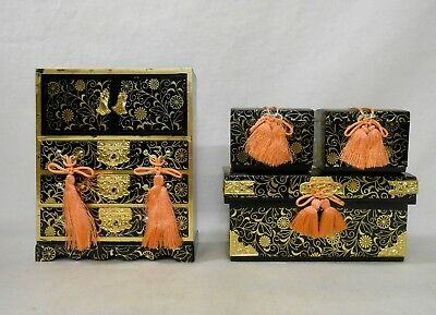 604 Japanese Chest of Drawers TANSU & Boxes NAGAMOCHI / Ornament for HINA Doll
