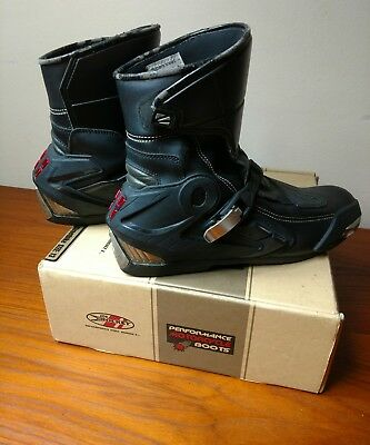 936cc1cc529 JOE ROCKET SUPERSTREET Performance Motorcycle Boots Size 13 Pre-Owned Good  Cond