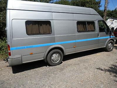 Ford Transit Xlwb 2 Berth Camper Van Conversion