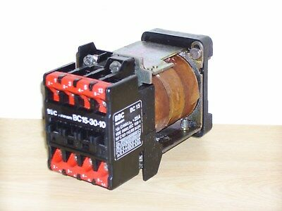 Abb Bc15-30 7.5Kw Contactor 24Vdc Coil