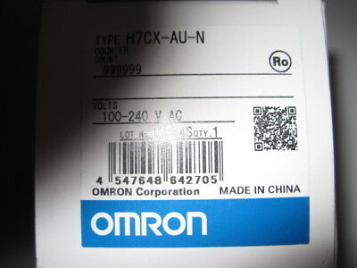 Omron Multifunction Counter H7CX-AU-N H7CXAN 6Digits 100-240VAC