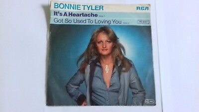 bonnie tyler single  ist a heartache / got so used to loving you
