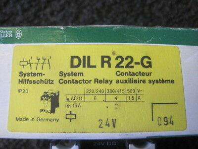 Moeller Contactor  DIL R 22-G NEW