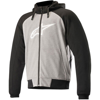 Alpinestars Chrome Sport Protective Hoodie - Grey Black