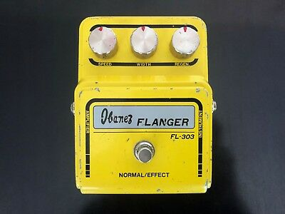 Ibanez FL-303 Flanger 1976-1978, MIJ, Made in Japan, block logo, vintage