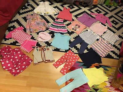 BIG Baby Girl 12-18 Month Summer Clothes Bundle - M&S, Tu, Gap, NEXT, F&F
