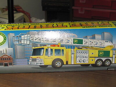 BP 1996 Aerial Tower Fire Truck #1 in Series-Mint in Box