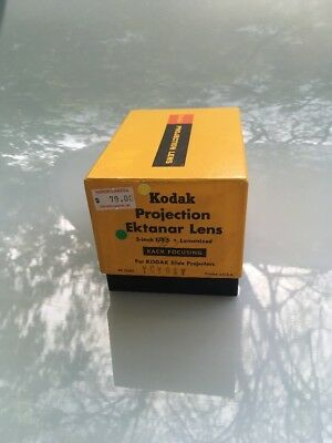 KODAK Projection EKTANAR Lens 5 Inch f/2.8 for Carousel Slide Projector