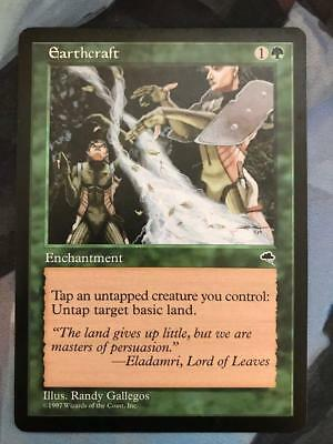 MTG Magic the Gathering Earthcraft from the Tempest expansion