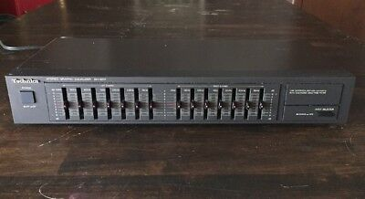 Technics  Stereo Graphic Equalizer  7 Band SH-8017