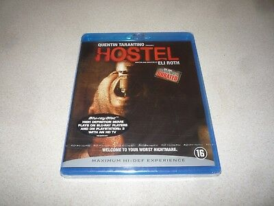 Hostel Part : (Blu-Ray,2007) Quentin Tarantino - Brand New And Sealed