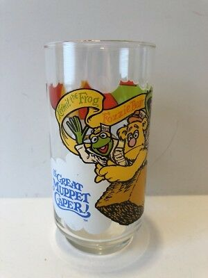 McDonald's 1981 The Great Muppet Caper Hot Air Balloon Collectors Glass