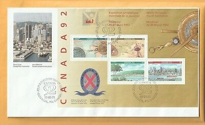 Canada - Day Of Issue 1992-03-25, World Philatelic Youth Exhibition.