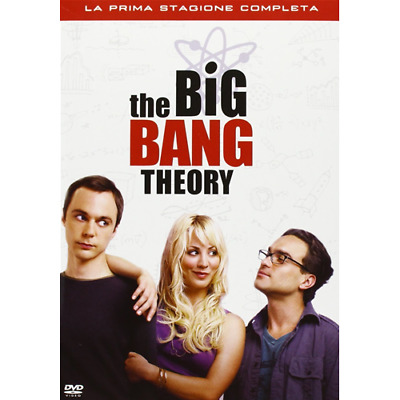 Big Bang Theory - Stagione 01 (3 Dvd)  [Dvd Nuovo]