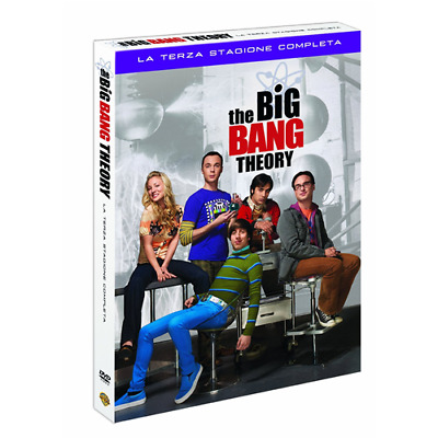 Big Bang Theory (The) - Stagione 03 (3 Dvd)  [Dvd Nuovo]