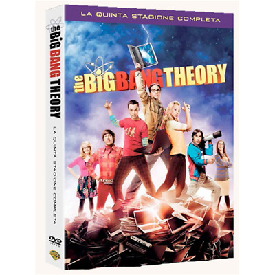 Big Bang Theory (The) - Stagione 05 (3 Dvd)  [Dvd Nuovo]