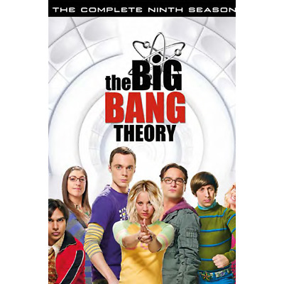 Big Bang Theory (The) - Stagione 09 (3 Dvd)  [Dvd Nuovo]