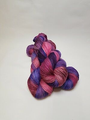 Hand dyed Merino Nylon yarn, 4-ply, Fingering , 100g, GERALDINE, Best Friends