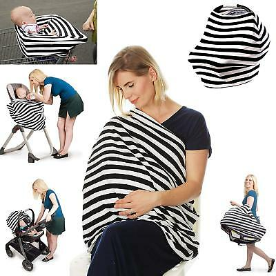 4in1 Car Seat Cover Privacy Nursing Cover Nursing Scarf Feeding Cover High Chair