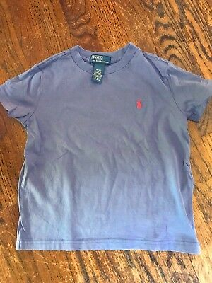 Polo Toddler Blue T-Shirt Size:4T