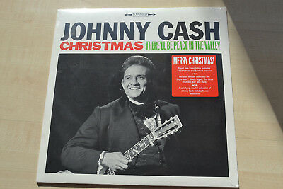 Johnny Cash ,Christmas-There`ll Be Peace In The Valley, Col./Legacy USA , Sealed