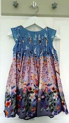 Baby girls gorgeous floral party dress by Next size 18-24 months BNWT