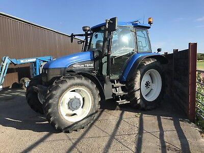 New Holland Ts115 Turbo