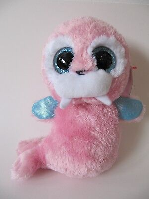 TY BEANIE BOO pink walrus Tusk 6in used but excellent condition tags ... 04fb4d7ef2d