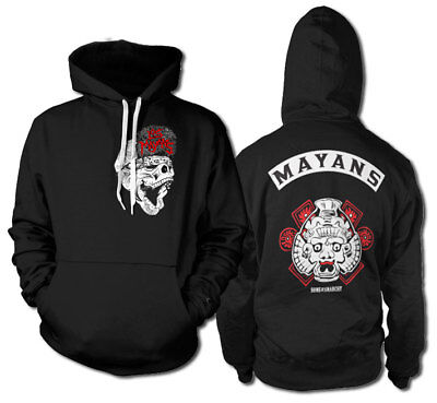 Official Licensed Los Mayans - Sons of Anarchy Hoodie S-XXL Sizes (Black)