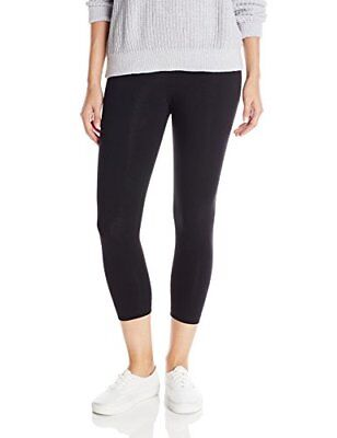Lysse Women's Tummy Control Shaping Cotton Capri LeggingsBlackL
