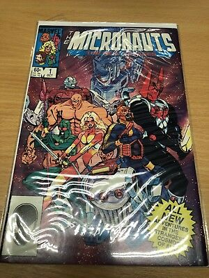 The MICRONAUTS # 1 The New Voyages