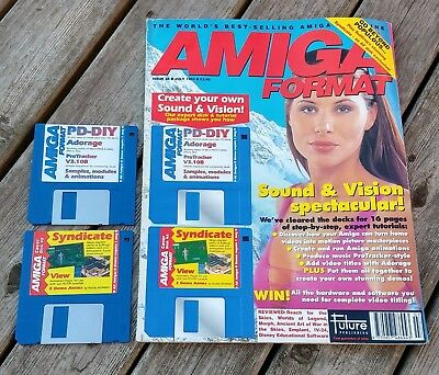 Amiga Format Issue 48 (July 1993) with cover disks