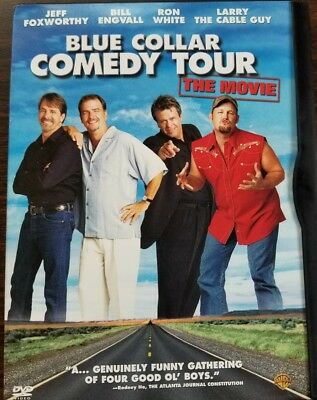 Blue Collar Comedy Tour, THE MOVIE, 2003 DVD, FOXWORTHY, ENGVALL, WHITE, LARRY,