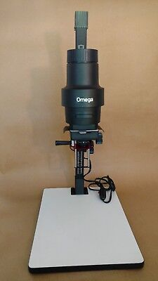 Omega C-700 Enlarger Excellent Condition w/ Enlarging Lens and Negative Carrier