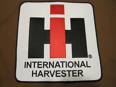 Farm Tractor Patch Large International Harvester Ih I H I-H Large Back Size Look