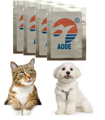 Flea,Tick Treatment plus Dewormer for Tapeworms and Roundworms 15 Tabs