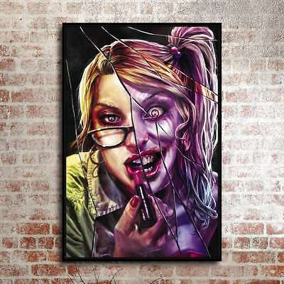"""12""""x18""""Harley Quinn's Poster Painting HD Print on Canvas Home Decor Wall Art"""