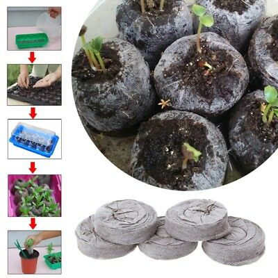 30-45mm Jiffy Peat Pellets Seed Starting Plugs Seed Starter Pallet Seedling Soil