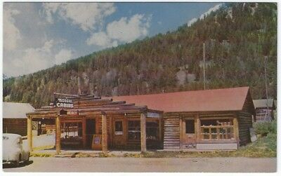Cooke City, Montana, Early View of Richardson Curios and Cabins