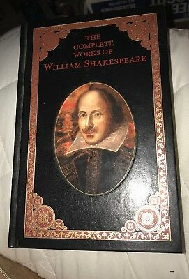 The Complete Works of William Shakespeare. Leather bound, VERY good condition